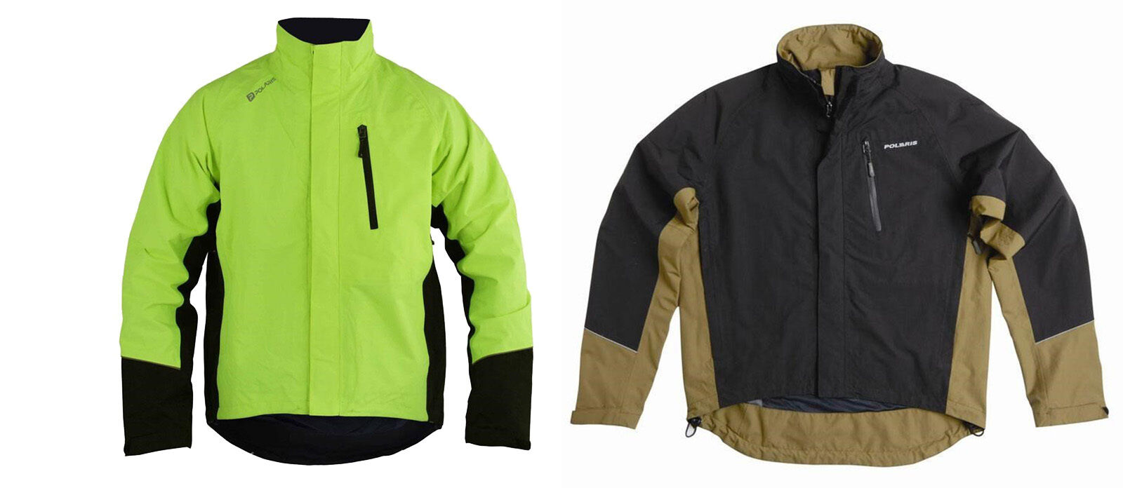 NEW POLARIS RUSH BREATHABLE WATERPROOF LINED CYCLE CYCLING JACKET - 2 COLOURS