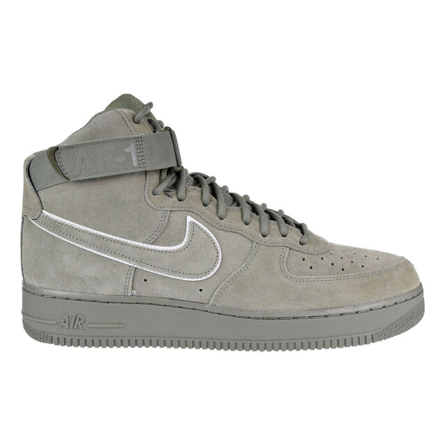 pretty nice 80c76 9585f Nike Air Force 1 High 07 LV8 Suede Mens Shoes OliveWhite AA1118-