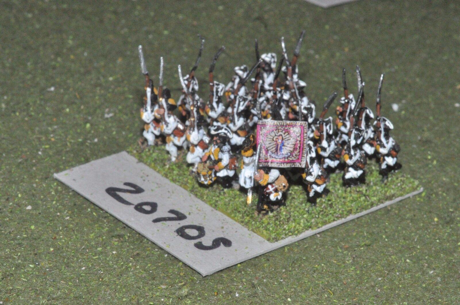 15mm 7YW   Austrian - seven years war infantry 24 figures  - inf (20705)