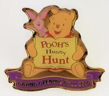 TDL Pooh's Hunny Hunt Grand Opening Fall 2000 Trading Pin 1619 Tokyo Disneyland