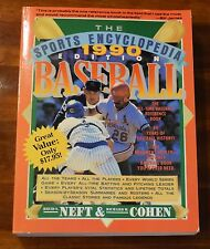 THE SPORTS ENCYCLOPEDIA 1990 EDITION BASEBALL DAVID NEFT & RICHARD COHEN SC 1990