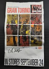 Autographed GRAN TORINO Tour Poster Knoxville TN Rock R&B Band Signed 2002