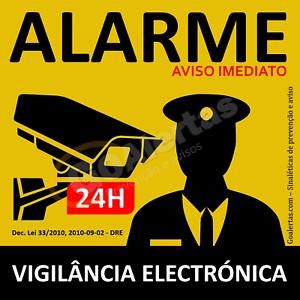 Placa-de-aviso-de-alarme-Amarela