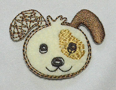 Small Animal Embroideries Motif Iron Patch Badge Embroidery Teddy Bear Dog Panda