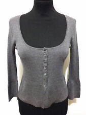 LIU JO Maglia Cardigan Donna Seta Cashmere Silk Woman Sweater Sz.S - 40