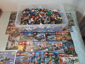 Genuine-LEGO-et-TECHNIC-LEGO-500-G-Mixed-bundle-large-gamme-de-lego-inclus