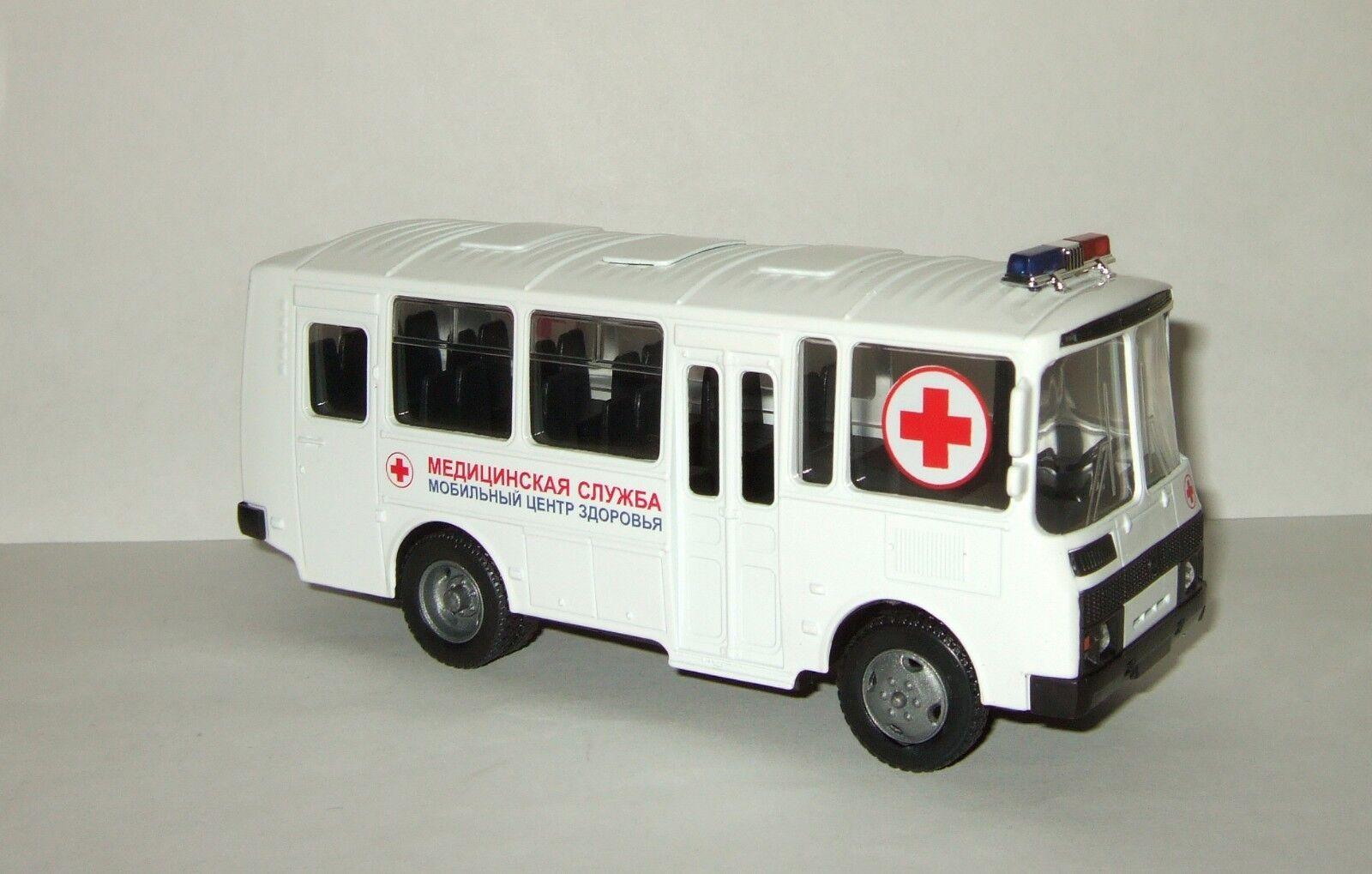 Russian ambulance bus Paz 32053 03 Autotime 1 43