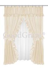 Item 3 Lauren Dobby Design Double Swag Shower Curtain Sets