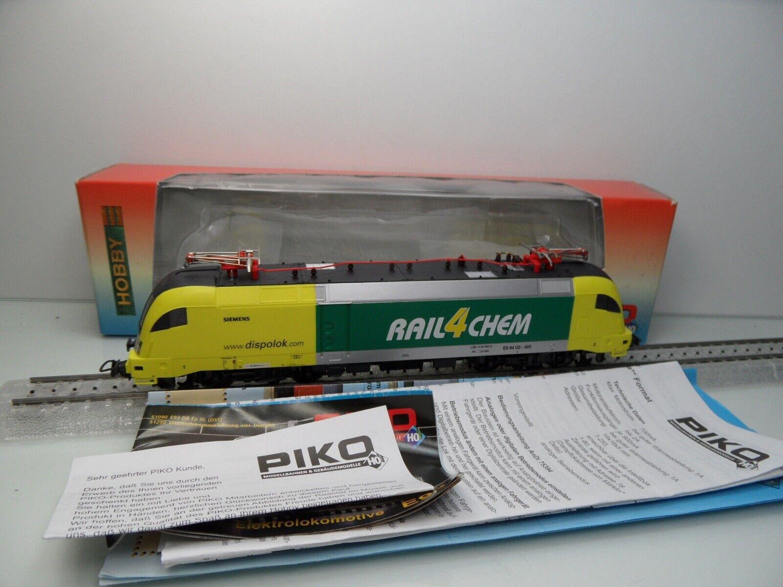 Piko 57219 - H0 - Dispolok - SIEMENS - RAIL4CHEM - AC / Digital -TOP/OVP - #4144
