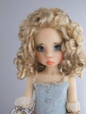 Monique BELLE Doll Wig Pch Blonde Brown Size 8-9 SD BJD shown on Nyssa Wiggs