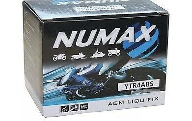 YTR4A-BS NUMAX MOTORBIKE BATTERY