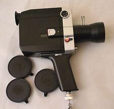 Videokamera Super 8 Quarz 1x8S-2 Made in USSR Zoom Lens Meteor 8M-1 1,8/9-38