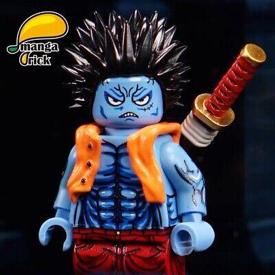 ⎡MANGA BRICK⎦  Pre-order Custom One Piece Captain Coat Luffy Lego Minifigure