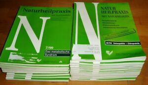 22x-Naturheilpraxis-mit-Naturmedizin-1990er-Heilpraktiker-Sammlung-Zeitschrift