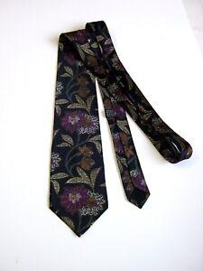 Krawatten & Fliegen Kleidung & Accessoires UnermüDlich Enrico Coveri New New Vintage 80 Reine Seide Pure Seide Original
