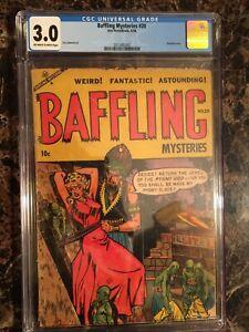 Baffling-Mysteries-20-CGC-3-0-OW-W-PRE-CODE-HORROR-PCH-UNPRESSED-BONDAGE-COVER