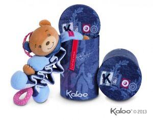 Baby Kaloo Blue Denim Spieluhr Bär Kuscheltier Musikalisch In Edler Box 960074 Harmonische Farben