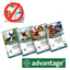 ADVANTAGE-40-100-250-400-Chiens-4-Pipettes-Anti-Puces-Fleas-treatment miniature 1