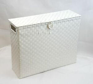 Image Is Loading Toilet Roll Holder Bathroom Storage Box With Insert
