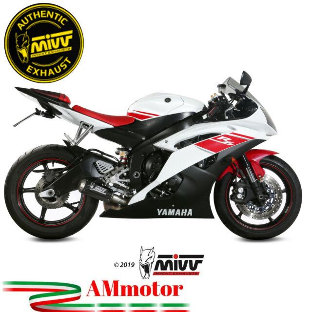 Mivv Yamaha Yzf 600 R6 2013 13 Pot D' Echappement Moto Silencieux Mk3 Carbone