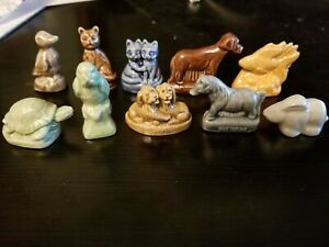RED-ROSE-TEA-WADE-OF-ENGLAND-COMPLETE-SET-OF-10-PET-SHOP-FIGURINES-WHIMSIES