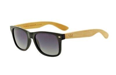 Polarized Sunglasses Unisex Gafas de sol MOSCA NEGRA modelo ALPHA SUNSET BLUE