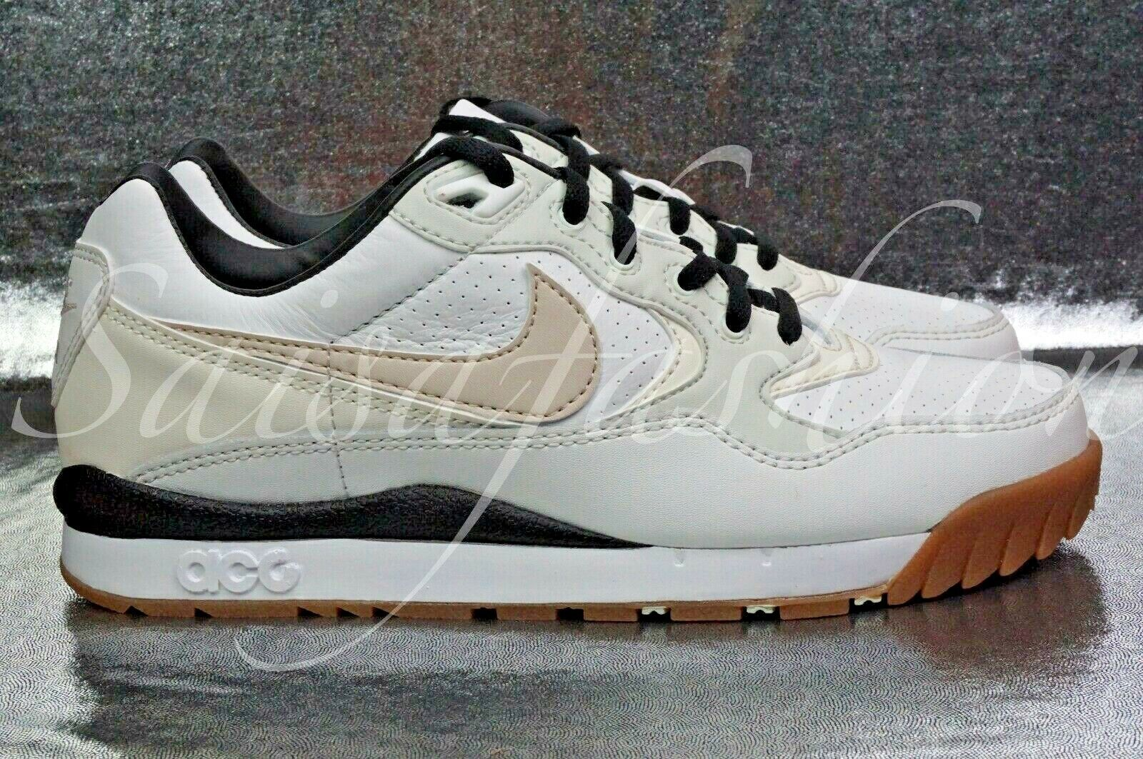 Nike Air Wildwood ACG White Black Gum Outdoors Wmns shoes AO3116-100 Sz 6