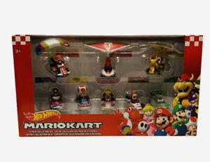 DieCast Hotwheels Mario Kart Cars 8 Pack Collector Set