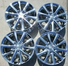 16 Toyota Camry Factory Oem Chrome Alloy Wheels Rims 2010 2011 16x6 12 69565 Fits 2011 Toyota Camry
