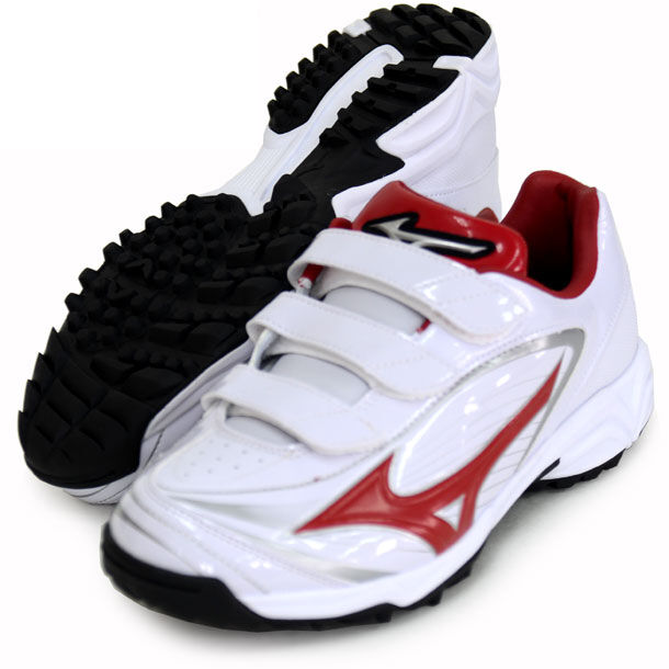 Mizuno Japan Baseball shoes Select Nine Trainer CR 11GT1722 White Red