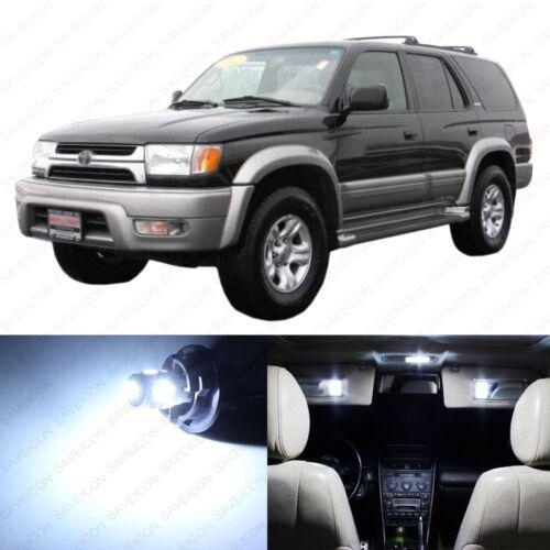 11 x White LED Interior Lights Package For 1997-2002 Toyota 4Runner PRY TOOL
