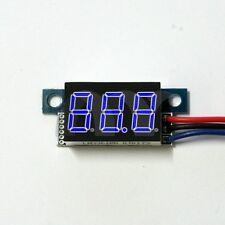 Mini DC 0-100V 3-Wire Voltmeter Blue LED Display Volt Meter Digital Panel Meter