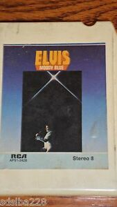 Elvis-Presley-8-track-cassette-Moody-Blue-1977-Unchained-Melody-Little-Darlin