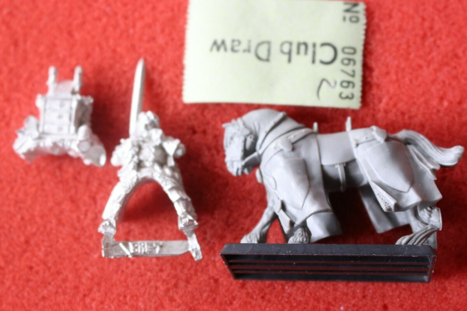 Games Workshop Warhammer Bretonnian Lord Mounted Metal Questing Knight Fantasy G