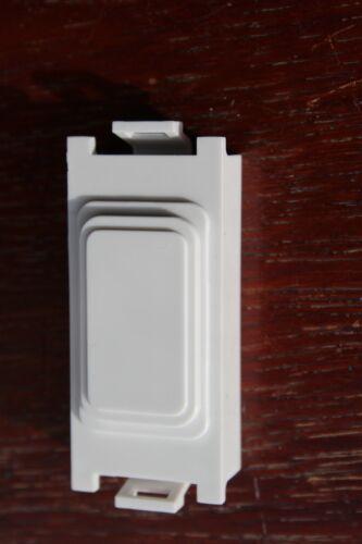 DETA G3544 blanc Grille Module Housse Blanc Unlettered