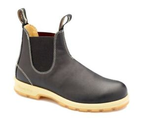 Details about Blundstone Urban 1401 Leather Lined Heritage Voltan Black Leather Boots