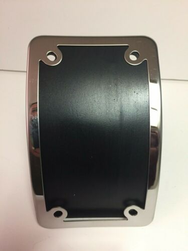 Motorcycle Curved License plate Frame Stainless Steel
