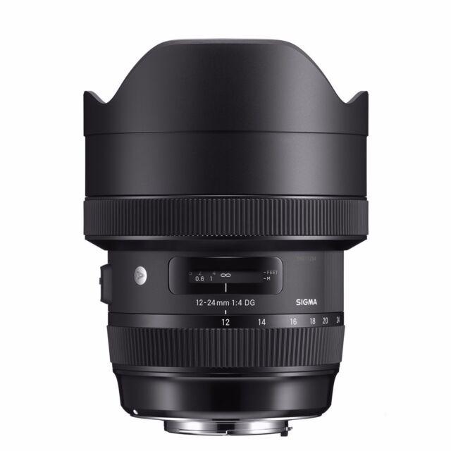Sigma 12-24mm f/4 DG HSM Art Lens (for Nikon) *NEW* *SIGMA USA WARRANTY*