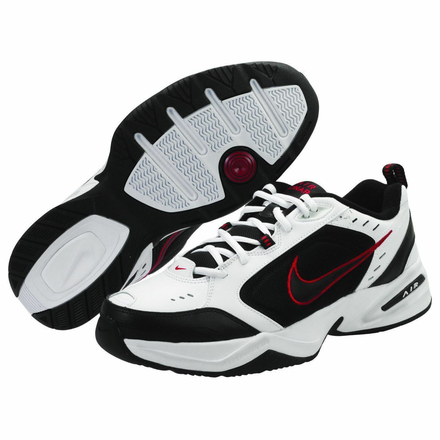 Nike Air Monarch IV Price reduction White/Black 416355 101 Men's Shoes