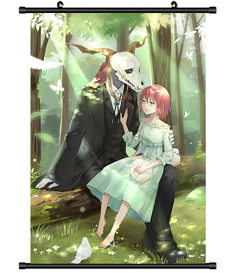 "Hot Japan Anime Mahoutsukai no Yome Poster Wall Scroll Home Decor 8/""×12/"" FL883"