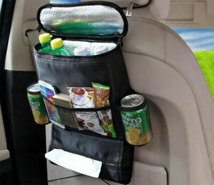 Car-Back-Seat-Cooler-Bag-amp-Organiser-Multi-Pocket-Cooler-Storage-Shopping-Bag