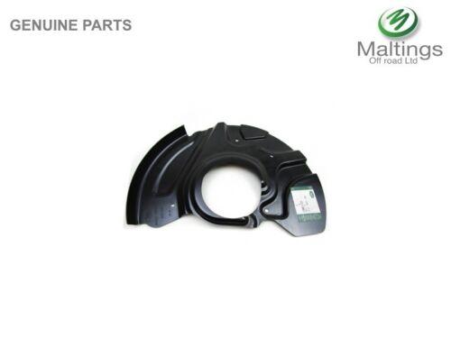 range rover l322 front brake disc back plate range rover brake dust shield RHF
