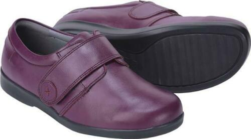 Cosyfeet Extra Spacieux Adele Femme Casual Chaussures le raccord 6E 7 Couleurs Tailles UK