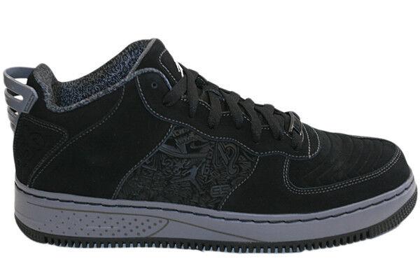 Nike Air Jordan Force 20 Low Neu Gr:45,5 Schwarz Suede US:11,5 Sneaker kobe bred