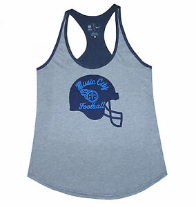 Nfl Womens Apparel Tennessee Titans Nfl Helmet Icon Nike Team Tank  free shipping