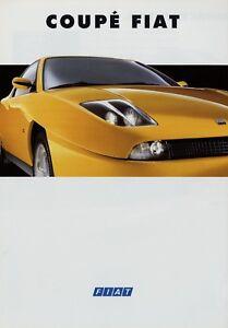Fiat-Coupe-Prospekt-1994-4-94-8-S-brochure-Broschuere-prospetto-prospectus-Auto