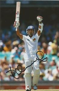 SRI-LANKA-DINESH-CHANDIMAL-SIGNED-6x4-TEST-ACTION-PHOTO-COA