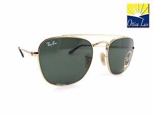 001 Lenti Verde Metallo Oro Ray 3557 Sunglass Ban G15 Sonnenbrille qYwxSEa