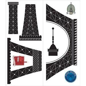 Eiffel-Tower-Peel-amp-Stick-Wall-Decal-Paris-Theme-Wall-Sticker-Parisian-Wall-Art