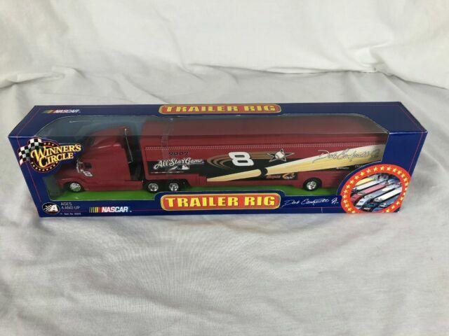 Dale Earnhardt Jr 2002 Blue Oreo Trailer Rig Race Car Hauler 1:64 Winners Circle